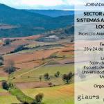 Jornadas técnicas «Sector agrario y sistemas alimentarios locales»