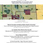 Conferencia AESOP-Sustainable Food Planning en Madrid, 7-8 noviembre 2019